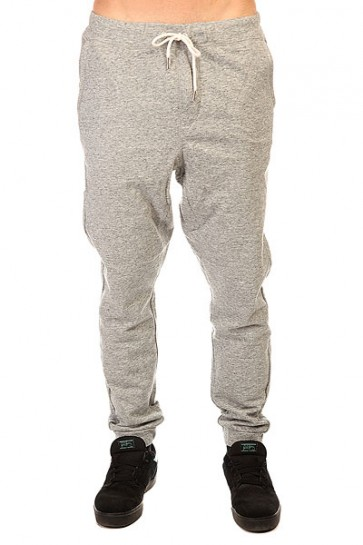 Штаны спортивные Quiksilver Fonic Fleece Otlr Medium Grey Heather, 1140748,  Quiksilver, цвет серый