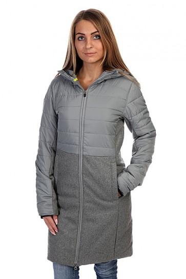 Пальто женское Burton Wb Caster Jacket Monument Heather, 1114043,  Burton, цвет серый