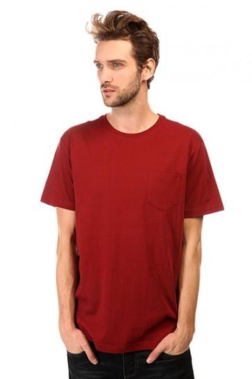Футболка DC Basic Pocket Kttp Syrah, 1140857,  DC Shoes, цвет бордовый