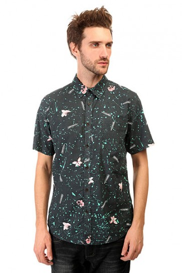 Рубашка Quiksilver Sweet Sour Shirt Wvtp Sweet And Sour Black, 1140868,  Quiksilver, цвет синий
