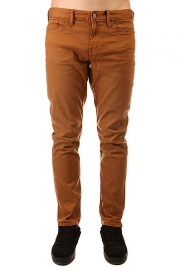 Джинсы узкие DC Colour Slim Jea Pant Wheat, 1140908,  DC Shoes, цвет коричневый