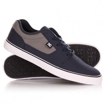 Кеды кроссовки низкие DC Tonik Tx Navy/Grey, 1140934,  DC Shoes, цвет серый, синий