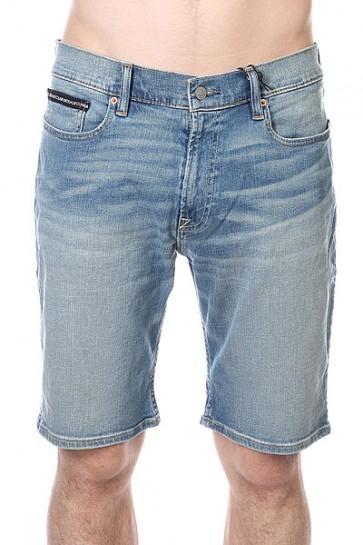 Шорты джинсовые DC Wk Dn Str Indigo Bleach, 1120786,  DC Shoes, цвет голубой