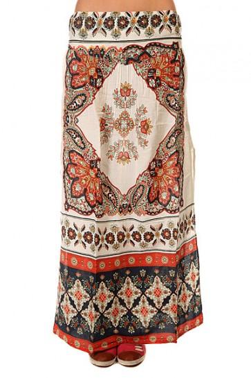 Юбка женская Roxy Lola Agadir Border Combo, 1144046,  Roxy, цвет бежевый, мультиколор