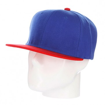 Бейсболка True Spin Tone Blank Snapback Oldy, 1090130,  TrueSpin, цвет красный, синий