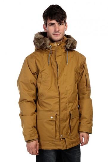 Куртка парка Quiksilver Ferris Parka Dull Gold, 1126763,  Quiksilver, цвет коричневый