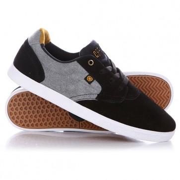 Кеды кроссовки низкие Circa Jc01 Bkgy Black/Gray, 1126785,  Circa, цвет серый, черный
