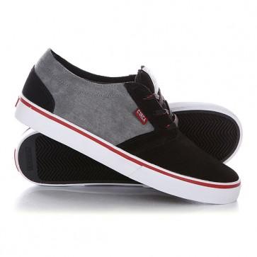 Кеды кроссовки низкие Circa Hesh Blmn Black/Midnight, 1126790,  Circa, цвет серый, черный