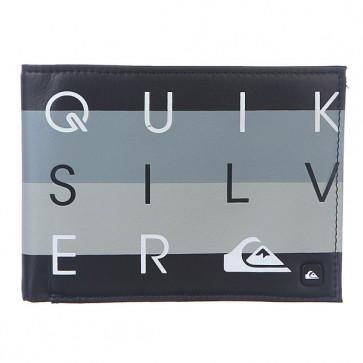 Кошелек Quiksilver Primo Black, 1111474,  Quiksilver, цвет серый