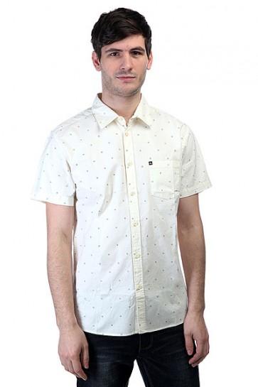 Рубашка Quiksilver Every Min Motss Wvtp Mini Motif Snow White, 1144652,  Quiksilver, цвет бежевый