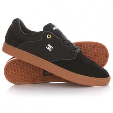 Кеды кроссовки низкие DC Mikey Taylor Black/Gum, 1144709,  DC Shoes, цвет черный