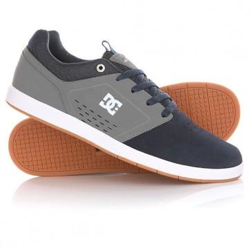 Кроссовки DC Cole Signature Navy, 1144715,  DC Shoes, цвет серый, синий