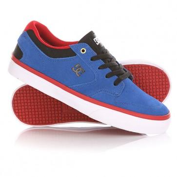 Кеды кроссовки низкие детские DC Argosy Vulc Royal/Red, 1144727,  DC Shoes, цвет синий