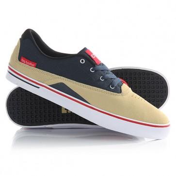 Кеды кроссовки низкие DC Sultan S Se Pale Banana, 1146315,  DC Shoes, цвет бежевый, синий