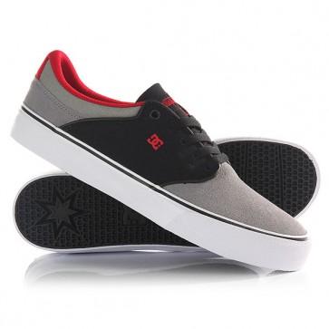 Кеды кроссовки низкие DC Mikey Taylor Black/Grey/White, 1146332,  DC Shoes, цвет серый, черный