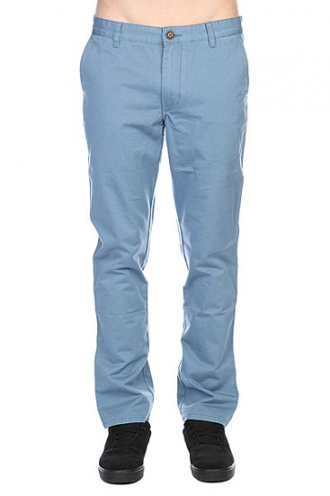 Штаны прямые Quiksilver Everyday Chino Ndpt Bluestone, 1108704,  Quiksilver, цвет голубой