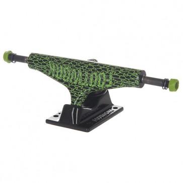 Подвески для скейтборда для скейтборда 2шт. Footwork Zombie Black/Green 5.25 (20.3 см), 1146439,  Footwork, цвет зеленый, черный