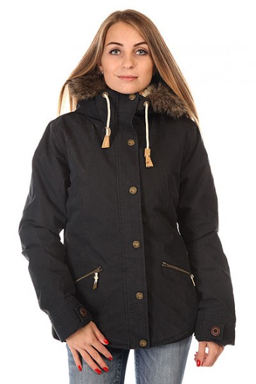 Куртка парка женская Roxy Steffi Jk True Black, 1129982,  Roxy, цвет черный