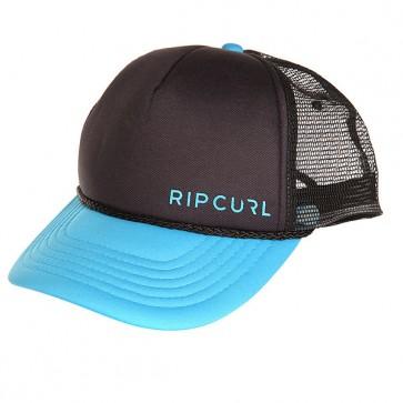 Бейсболка с сеткой Rip Curl Atlas Trucker 107 Black/Blue, 1159545,  Rip Curl, цвет голубой, черный