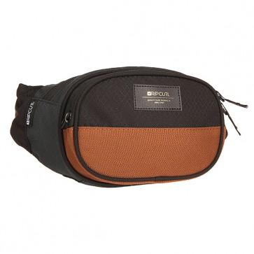 Сумка поясная Rip Curl Waistbag Stacka Black, 1159553,  Rip Curl, цвет коричневый, синий, черный