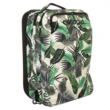 Сумка дорожная женская Rip Curl Palm Island Cabin Trolley White, 1159563,  Rip Curl, цвет белый, зеленый