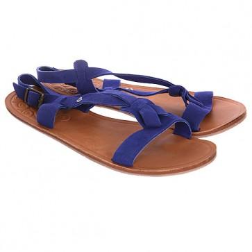 Босоножки женские Roxy Loya J Indigo, 1116614,  Roxy, цвет коричневый, синий