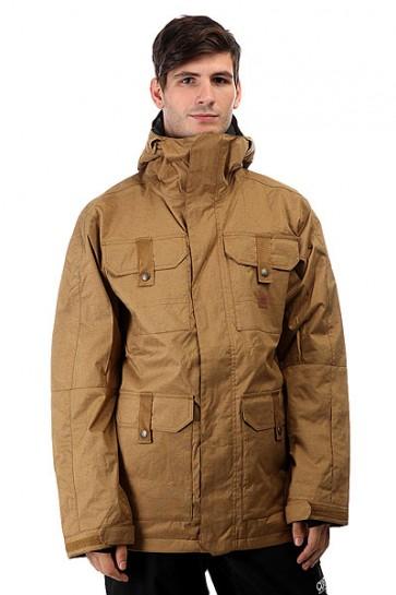 Куртка DC Servo Dull Gold, 1157934,  DC Shoes, цвет коричневый