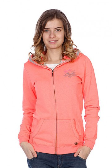 Толстовка женская Roxy Ice Cream Fleece Glow Pink, 1086281,  Roxy, цвет розовый