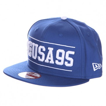 Бейсболка DC Champion Hats Nautical Blue, 1114695,  DC Shoes, цвет синий