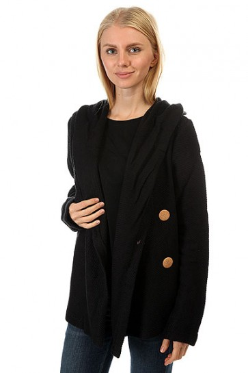 Кардиган женский Roxy Knot A Care True Black, 1158012,  Roxy, цвет черный