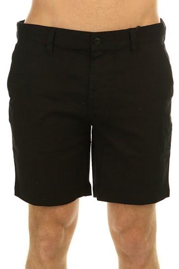 Шорты классические DC Worker Slim Black, 1146741,  DC Shoes, цвет черный