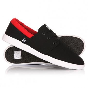 Кеды кроссовки низкие DC Haven Black/Red, 1146755,  DC Shoes, цвет черный