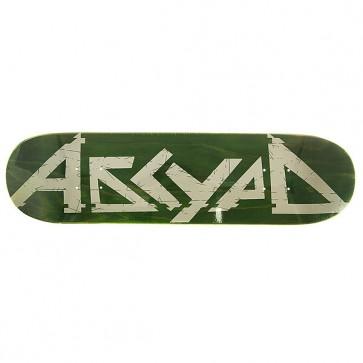 Дека для скейтборда для скейтборда Absurd Logo 1 Green 31.75 x 8 (20.3 см), 1146791,  Absurd, цвет зеленый