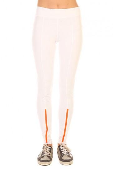 Леггинсы женские Roxy Courr Ges Run P White, 1156238,  Roxy, цвет белый