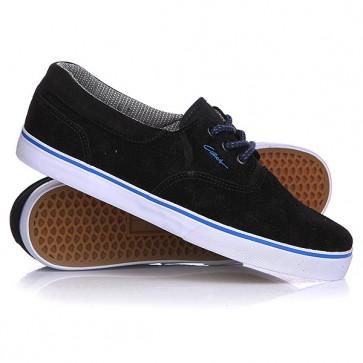 Кеды кроссовки низкие Circa Valeo Se Black/Regal, 1115010,  Circa, цвет черный