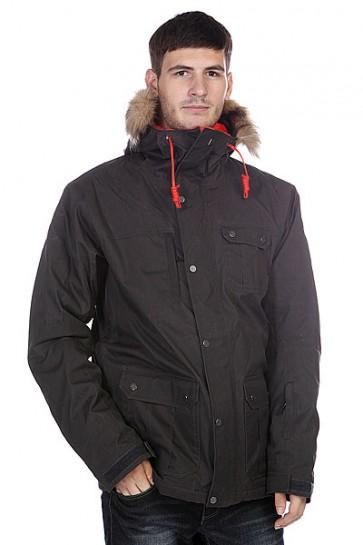 Куртка Quiksilver Storm 10k Jkt Caviar, 1096108,  Quiksilver, цвет черный