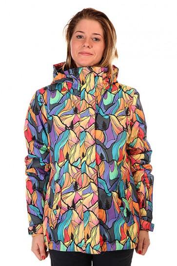 Куртка женская Roxy Jetty Woodsey, 1127644,  Roxy, цвет мультиколор