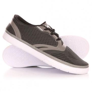 Кроссовки Quiksilver Oceanside Shoe Grey/White, 1142030,  Quiksilver, цвет серый, черный