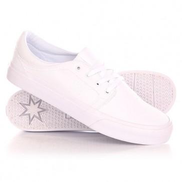 Кеды кроссовки низкие DC Trase Tx Shoe White, 1142039,  DC Shoes, цвет белый