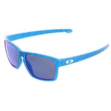 Очки Sliver Sky Blue/Sapphire Iridium Oakley, 1127774,  Oakley, цвет голубой