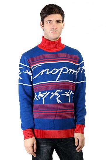 Свитер Запорожец Sport Blue/Red, 1160071,  Запорожец, цвет красный, синий