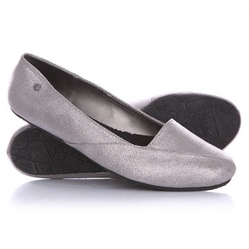 Балетки женские Volcom Game On Shoe Silver, 1138864,  Volcom, цвет серый
