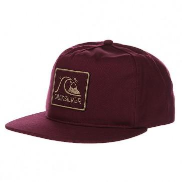Бейсболка Quiksilver Graf Hats Sassafras, 1109789,  Quiksilver, цвет бордовый
