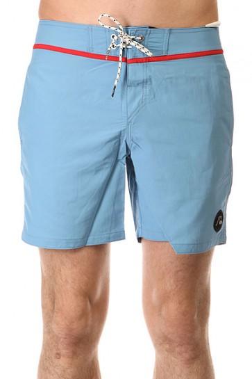 Шорты пляжные Quiksilver Classic Yoke Bdsh Niagara, 1142111,  Quiksilver, цвет голубой
