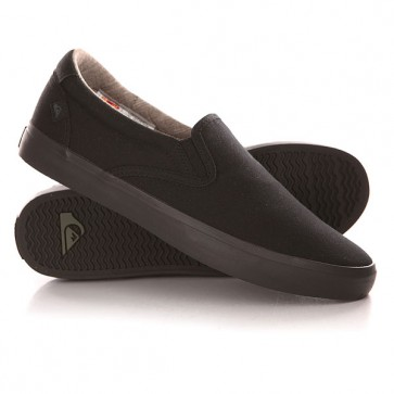 Слипоны Quiksilver Shorebreak Slip Shoe Solid Black, 1142183,  Quiksilver, цвет черный