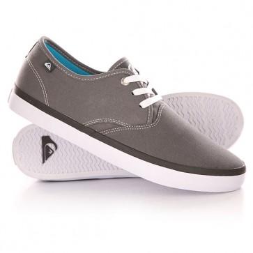 Кеды кроссовки низкие Quiksilver Shorebreak Shoe Grey/White, 1142189,  Quiksilver, цвет серый