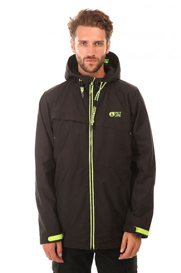 Куртка Picture Organic Snack 2 Jkt Black, 1154346,  Picture Organic, цвет черный