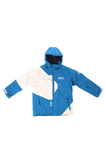 Куртка детская Picture Organic Fink Blue White, 1154392,  Picture Organic, цвет белый, синий