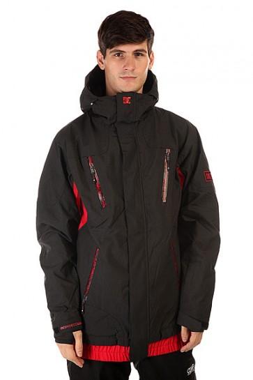 Куртка DC Torstein Jkt Anthracite, 1130742,  DC Shoes, цвет красный, черный