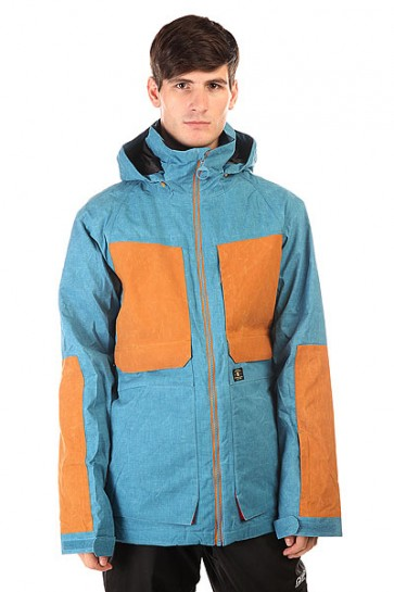 Куртка DC Kingdom Jkt Faience, 1130768,  DC Shoes, цвет коричневый, синий